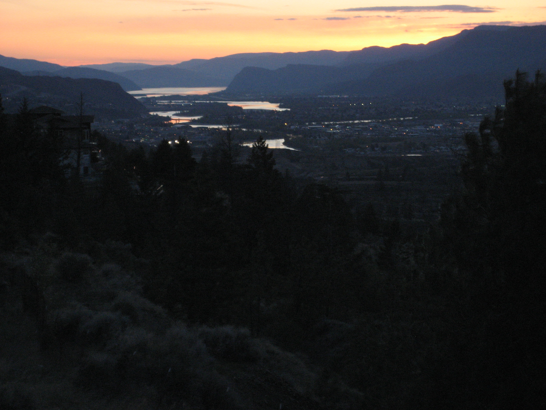 kamloops sunset